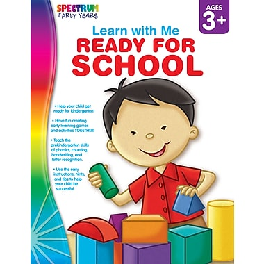 eBook: Spectrum 104448-EB Ready for School, Grade Preschool - K