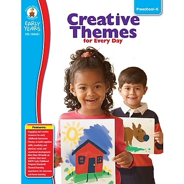 eBook: Carson-Dellosa 104451-EB Creative Themes for Every Day, Grade Preschool - K