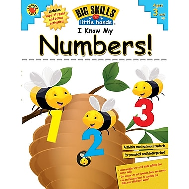 eBook: Brighter Child 704113-EB I Know My Numbers!, Grade Preschool - K