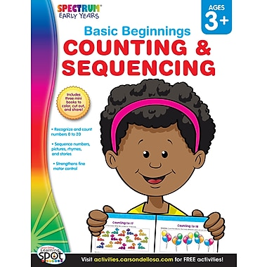 eBook: Spectrum 704168-EB Counting & Sequencing, Grade Preschool - K
