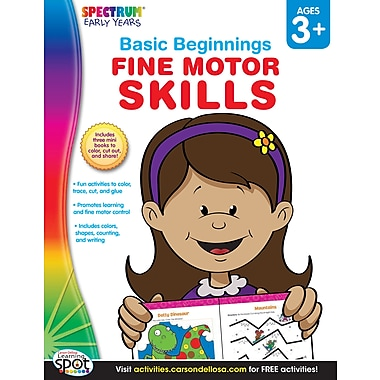 eBook: Spectrum 704171-EB Fine Motor Skills, Grade Preschool - K