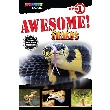 eBook: Spectrum 704323-EB Awesome! Snakes, Grade Preschool - 1