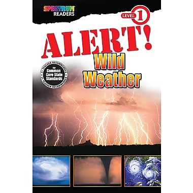 eBook: Spectrum 704325-EB Alert! Wild Weather, Grade Preschool - 1