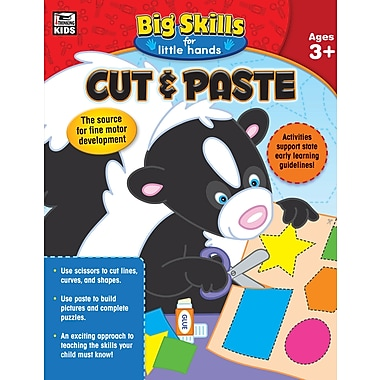 Carson-Dellosa 704912-EB Cut & Paste, classe préscolaire - maternelle