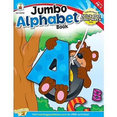 Livre numérique : Carson-Dellosa� -- Jumbo Alphabet Book 104781-EB, prématernelle à 1re année