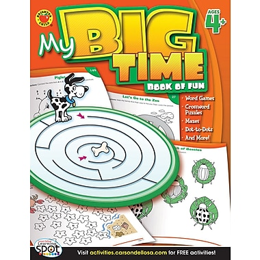 eBook: Brighter Child 704215-EB My Big Time Book of Fun, Grade PK - 1