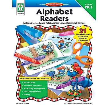 eBook: Key Education 804000-EB Alphabet Readers, Grade PK - 1