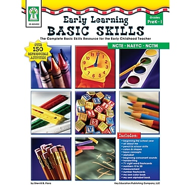 eBook: Key Education 804002-EB Early Learning Basic Skills, Grade PK - 1
