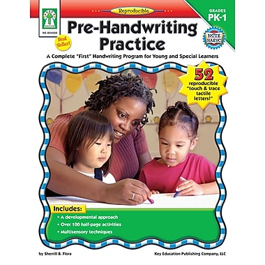 eBook: Key Education 804008-EB Pre-Handwriting Practice, Grade PK - 1