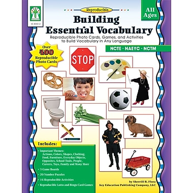 eBook: Key Education 804012-EB Building Essential Vocabulary, Grade PK - 3