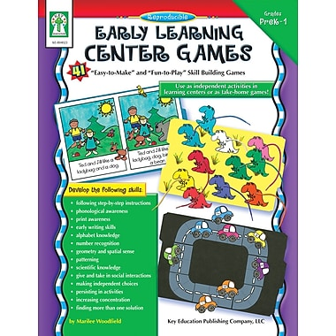 Livre numérique : Key Education� -- Early Learning Center Games 804023-EB, prématernelle à 1re année