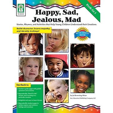 eBook: Key Education 804044-EB Happy, Sad, Jealous, Mad, Grade PK - 1