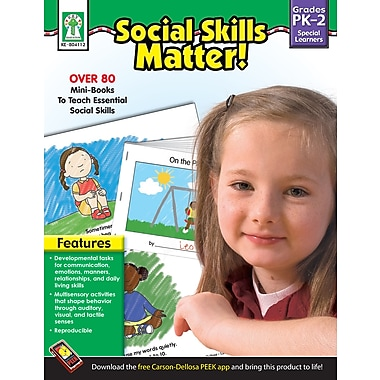 eBook: Key Education 804112-EB Social Skills Matter!, Grade PK - 2