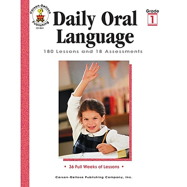 eBook: Carson-Dellosa 0041-EB Daily Oral Language, Grade 1