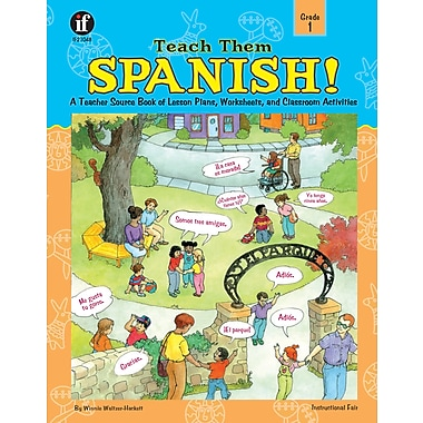 eBook: Instructional Fair 0742401960-EB Teach Them Spanish!, Grade 1