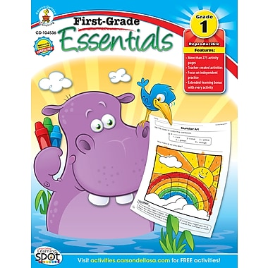 eBook: Carson-Dellosa 104536-EB First-, Grade Essentials, Grade 1