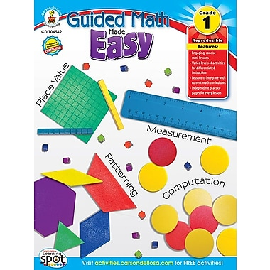 eBook: Carson-Dellosa 104542-EB Guided Math Made Easy, Grade 1