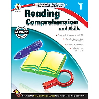 Livre numérique : Carson-Dellosa� -- Reading Comprehension and Skills 104619-EB, 1re année