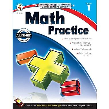 Livre numérique : Carson-Dellosa� -- Math Practice 104626-EB, 1re année