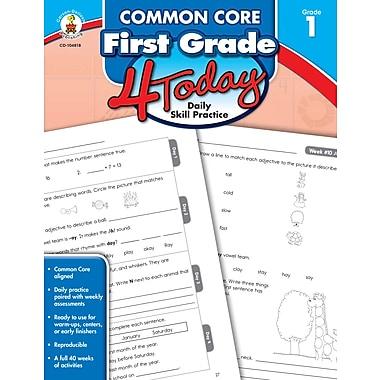 Livre numérique : Carson-Dellosa� -- Common Core First Grade 4 Today 104818-EB, 1re année