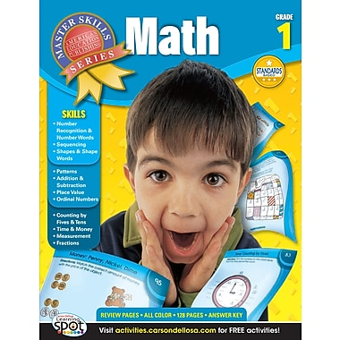 eBook: American Education Publishing 704078-EB Math, Grade 1