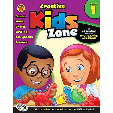 eBook: Brighter Child 704142-EB Creative Kids Zone, Grade 1