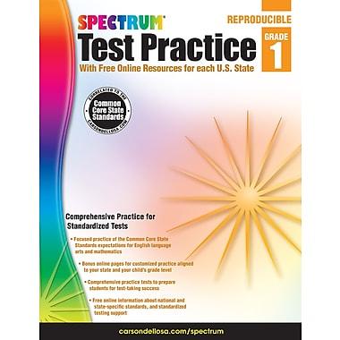 Livre numérique : Spectrum 704247-EB Spectrum Test Practice, 1re année