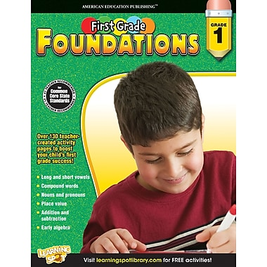 eBook: American Education Publishing 704262-EB First, Grade Foundations, Grade 1