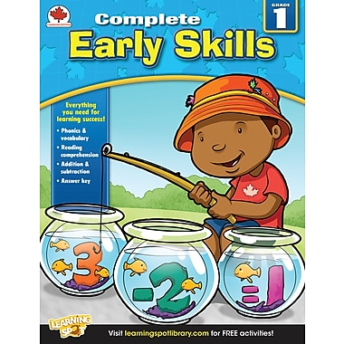 eBook: Carson-Dellosa 704285-EB Early Skills, Grade 1