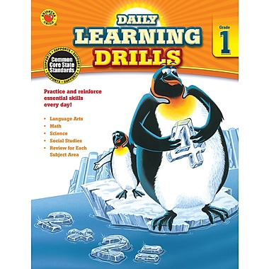 eBook: Brighter Child 704392-EB Daily Learning Drills, Grade 1