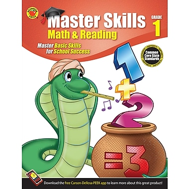 eBook: Brighter Child 704446-EB Math & Reading, Grade 1