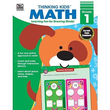 eBook: Thinking Kids 704462-EB Thinking Kids' Math, Grade 1