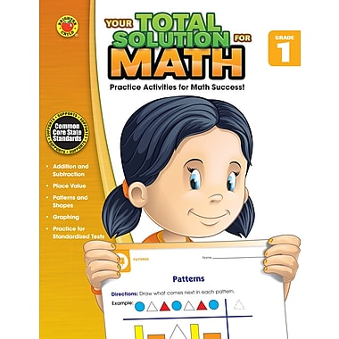 eBook: Brighter Child 704554-EB Your Total Solution for Math, Grade 1