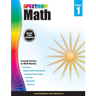 eBook: Spectrum 704561-EB Spectrum Math, Grade 1