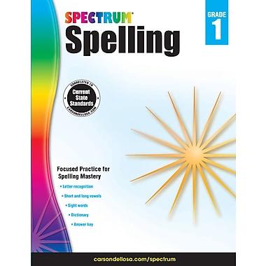 eBook: Spectrum 704597-EB Spectrum Spelling, Grade 1