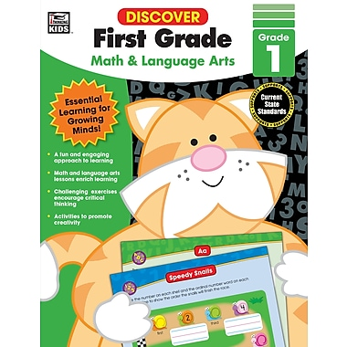 eBook: Thinking Kids 704890-EB Discover First Grade, Grade 1