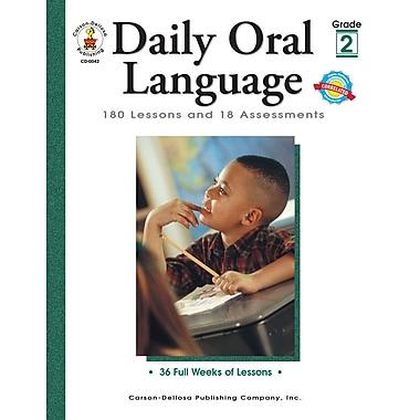 eBook: Carson-Dellosa 0042-EB Daily Oral Language, Grade 2