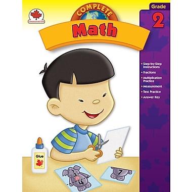 Livre numérique : Carson-Dellosa� -- Complete Math 104501-EB, 2e année