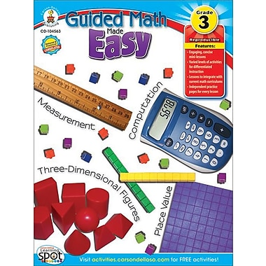 eBook: Carson-Dellosa 104562-EB Guided Math Made Easy, Grade 2
