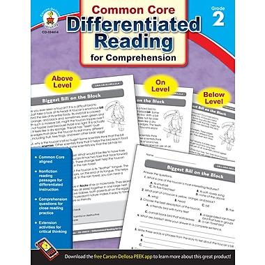 Livre numérique : Carson-Dellosa� -- Differentiated Reading for Comprehension 104614-EB, 2e année