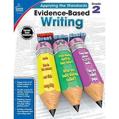 eBook: Carson-Dellosa 104825-EB Evidence-Based Writing, Grade 2