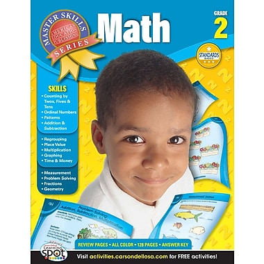 eBook: American Education Publishing 704079-EB Math, Grade 2