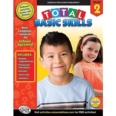 eBook: American Education Publishing 704147-EB Total Basic Skills, Grade 2