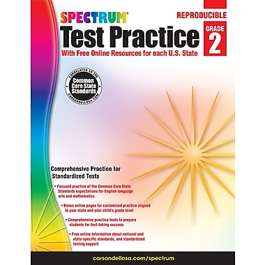 eBook: Spectrum 704248-EB Spectrum Test Practice, Grade 2