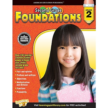 eBook: American Education Publishing 704263-EB Second, Grade Foundations, Grade 2