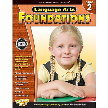 eBook: American Education Publishing 704273-EB Language Arts Foundations, Grade 2