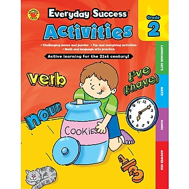 Livre numérique : Brighter Child� -- Everyday SuccessMC Activities Second Grade 704382-EB, 2e année