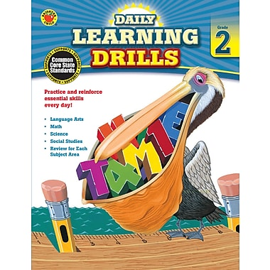 eBook: Brighter Child 704393-EB Daily Learning Drills, Grade 2