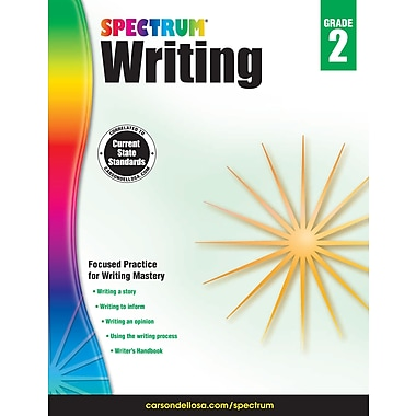 eBook: Spectrum 704571-EB Spectrum Writing, Grade 2