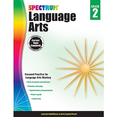 eBook: Spectrum 704589-EB Spectrum Language Arts, Grade 2